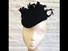 Couture by Beth Hirst Black Feather Beret